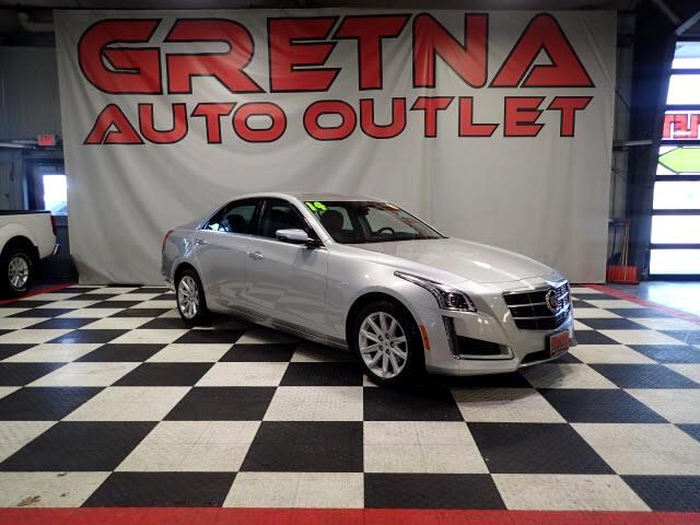 2014 Cadillac CTS 2.0L TURBO AWD LEATHER LOW MILES ONLY 68K LOADED!