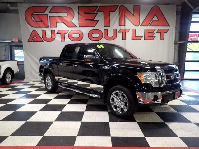 2009 Ford F-150 LARIAT SUPERCREW V8 4X4 83K MILES! H/C SEATS! ROOF