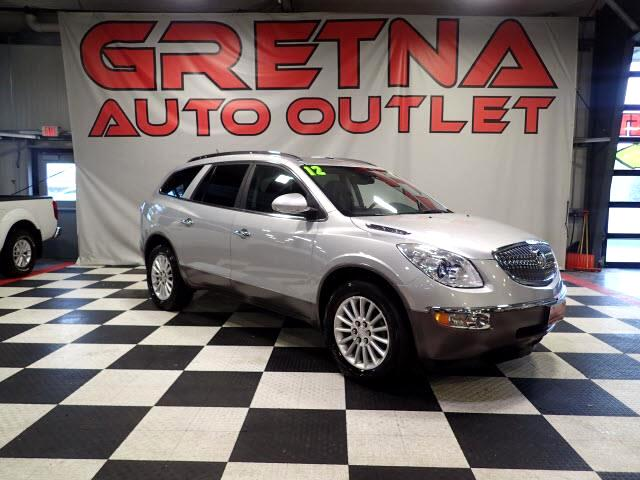 2012 Buick Enclave RWD AUTO V6 SUV HEATED LEATHER 76K MILES LOADED!