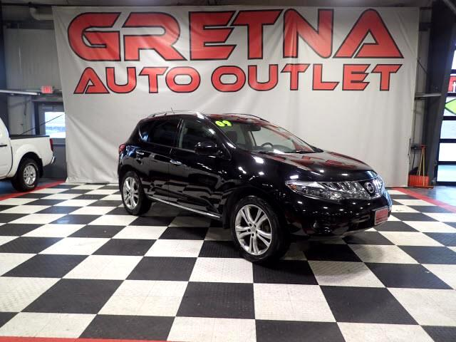 2009 Nissan Murano LE AWD LOW MILES NAVIGATION/BACK CAM DUAL ROOF V6!