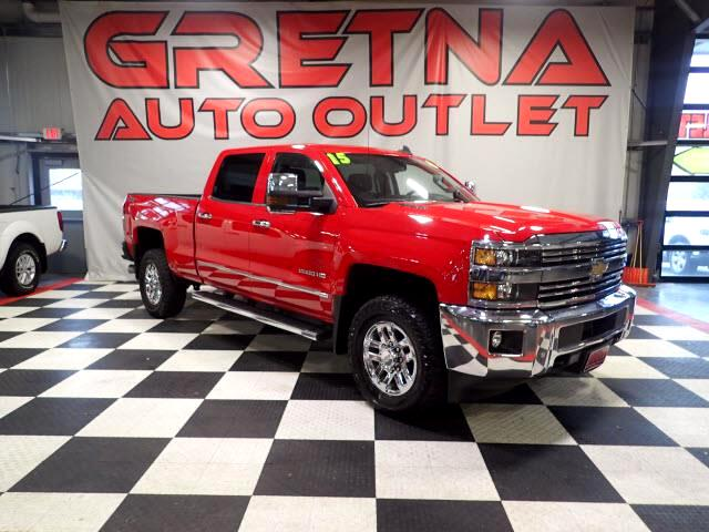 2015 Chevrolet Silverado 2500HD VICTORY RED LTZ 6.6L DURAMAX CREW 4X4 EVERY OPTION