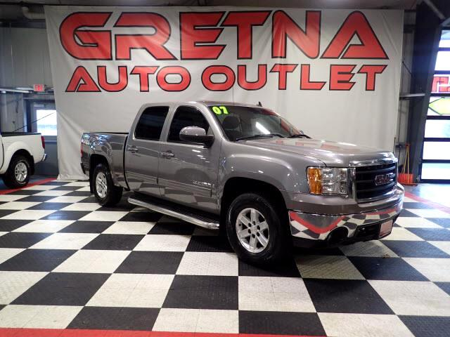 2007 GMC Sierra Classic 1500 SLT CREW CAB Z71 PKG 4X4 HEATED LEATHER! ONLY 77K!