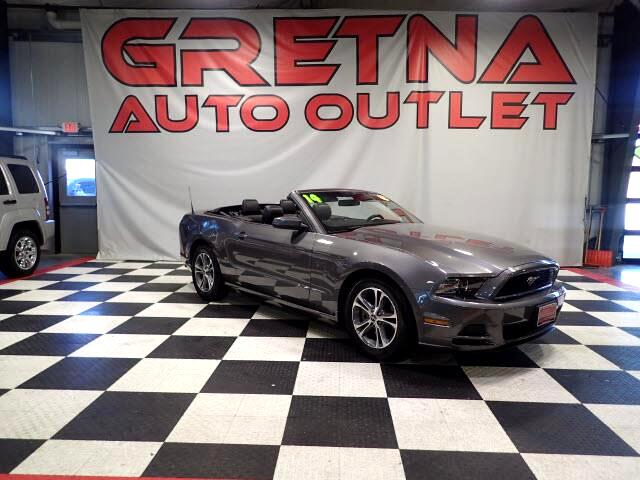 2014 Ford Mustang AUTO 3.7L V6 CONVERTIBLE LEATHER LOW MILES 91K!