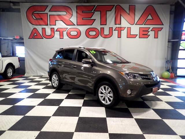 2015 Toyota RAV4 1 OWNER LIMITED HEATED LEATHER MOONROOF LOADED!
