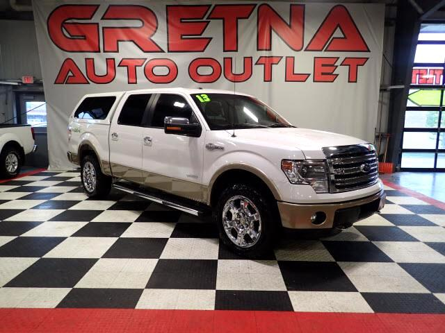 2013 Ford F-150 KING RANCH SUPERCREW 4X4 NAV SYNC! ROOF! LEATHER!