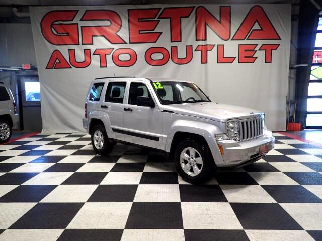 2012 Jeep Liberty SPORT 4X4 AUTO V6 SUV! LOW MILES 87K! IMMACULATE!