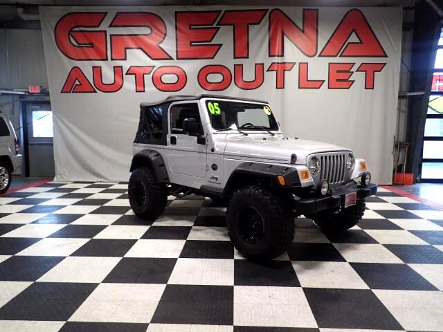 2005 Jeep Wrangler LIFTED 5 SPEED MANUAL X 4X4! 4.0L L6! READY TO GO!
