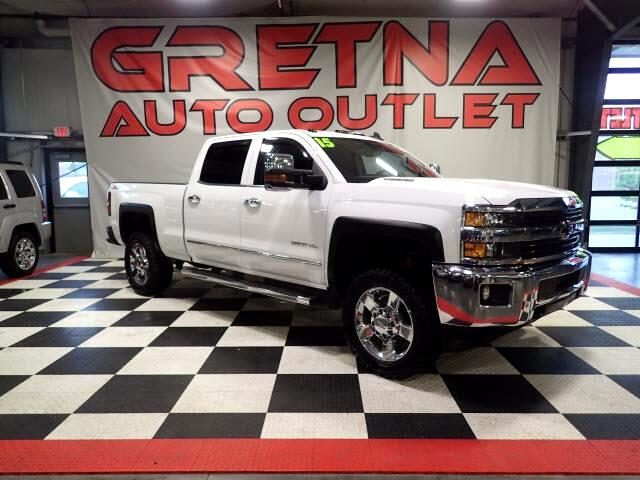 2015 Chevrolet Silverado 2500HD 1 OWNER LTZ CREW AUTO DURAMAX DIESEL NAV LOADED!