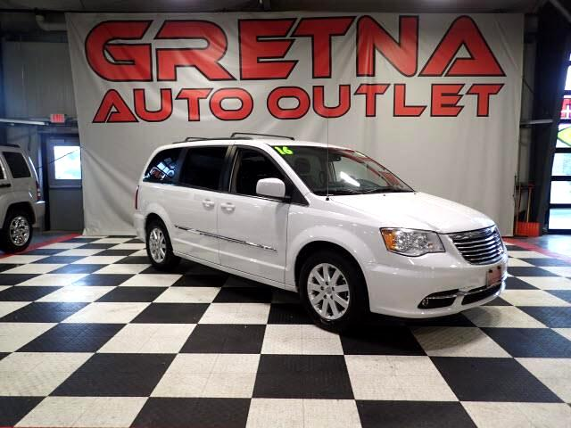 2016 Chrysler Town & Country 1 OWNER TOURING EDITION LEATHER LOADED 30K DVD!