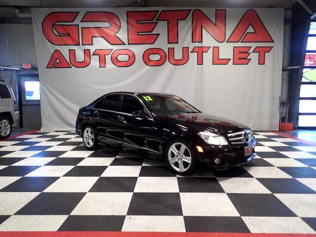 2010 Mercedes-Benz C-Class C300 4MATIC AWD LUXURY SEDAN! ONLY 51K! LOADED UP!