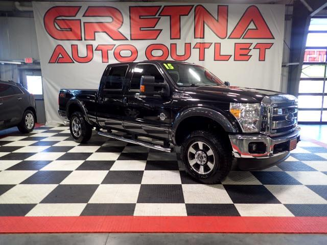 2015 Ford F-250 SD 1 OWNER LARIAT DIESEL CREW FX4 4X4 69K MILES ROOF!