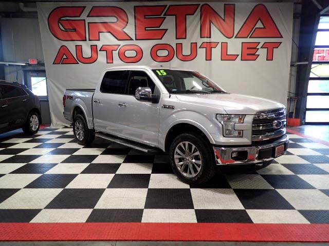 2015 Ford F-150 1 OWNER LARIAT SUPERCREW 4X4 FX4! EVERY OPTION!