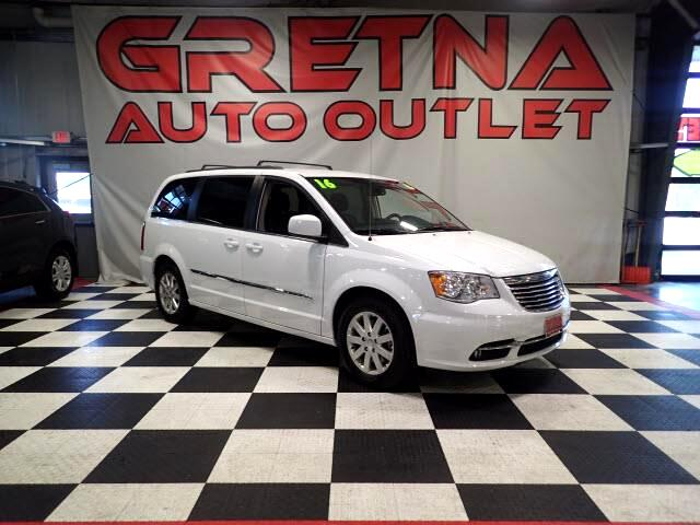 2016 Chrysler Town & Country 1 OWNER TOURING! ONLY 40K MILES! FULLY LOADED! DVD