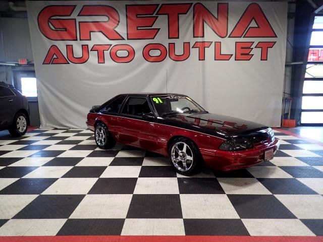 1991 Ford Mustang AUTO 5.0L V8 COUPE LOW MILES FOR THE YEAR! 141K!