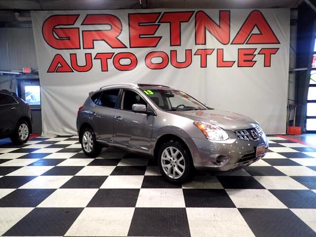 2013 Nissan Rogue S AWD NAVIGATION/CAMERA! 84K! LEATHER! MOONROOF!