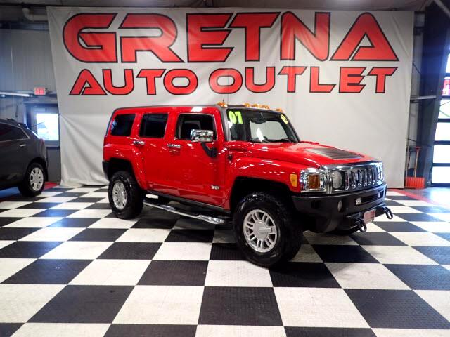 2007 HUMMER H3 1 OWNER H3X AUTO 4X4 SUV! VICTORY RED! MOONROOF!