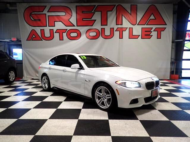 2013 BMW 5-Series 535i XDRIVE M SPORT AWD ONLY 49K! EVERY OPTION!