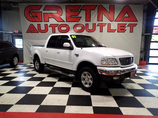 2001 Ford F-150 XLT SUPERCREW 4X4! AUTO 5.4L TRITON V8! ONLY 137K!