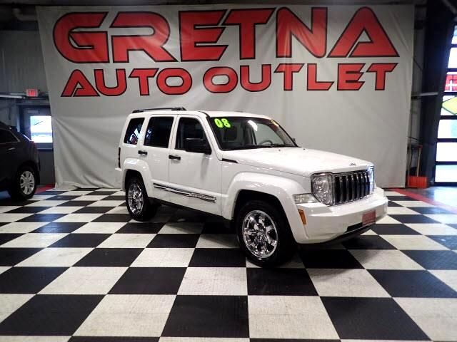 2008 Jeep Liberty LIMITED 4X4 AUTO SUV! HEATED LEATHER! MOONROOF!