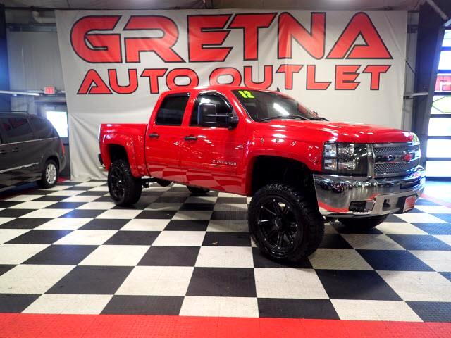 2012 Chevrolet Silverado 1500 LIFTED UP LT CREW 4X4 6.2L V8! LOW MILES ONLY 87K!