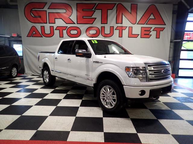2013 Ford F-150 PLATINUM SUPERCREW 4X4 NAV/CAM H/C LEATHER 106K