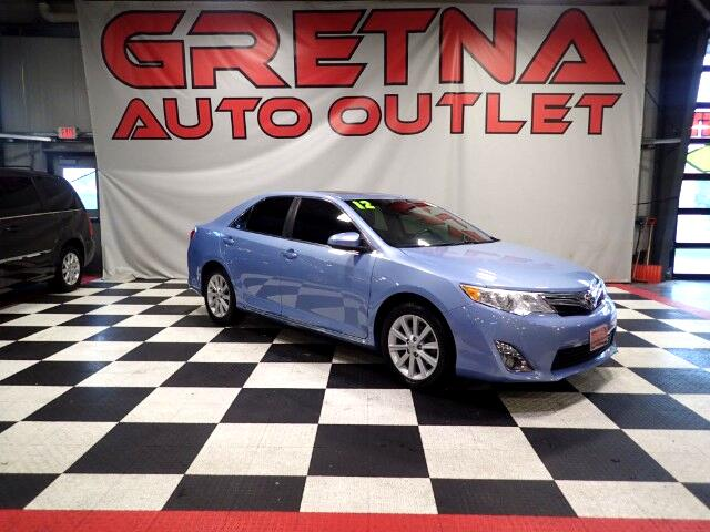 2012 Toyota Camry XLE AUTO 2.5L HEATED LEATHER! ROOF! BACK CAM! 62K!
