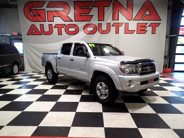 2009 Toyota Tacoma 1 OWNER DOUBLE CAB AUTO V6 TRD OFF ROAD 4X4 115K!