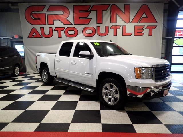 2010 GMC Sierra 1500 SLT CREW 4X4 AUTO 5.3L HEATED LEATHER BACK UP CAM!