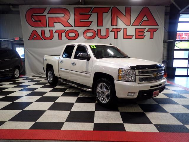 2012 Chevrolet Silverado 1500 LTZ CREW 4X4 BACK UP CAM! LEATHER! LOADED UP!
