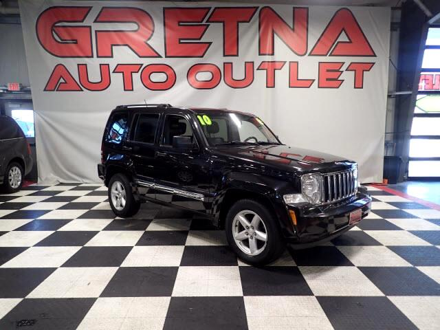 2010 Jeep Liberty LIMITED AUTO 3.7L V6 4X4 HEATED LEATHER! MOONOOF!