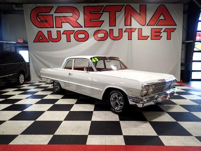 1963 Chevrolet Bel Air 283 V8 2 DOOR POST ONLY 48,529 ACTUAL MILES!