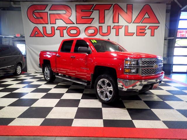 2014 Chevrolet Silverado 1500 LT  CREW AUTO 5.3L V8 4X4! HEATED SEATS! LOADED!