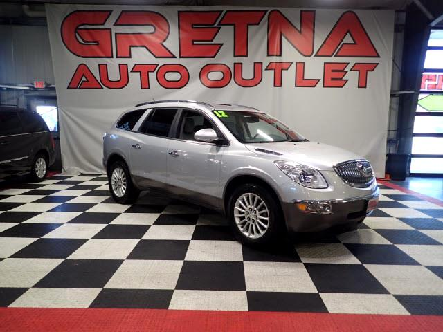 2012 Buick Enclave AUTO V6 SUV AWD HEATED LEATHER! REAR DVD! 83K!