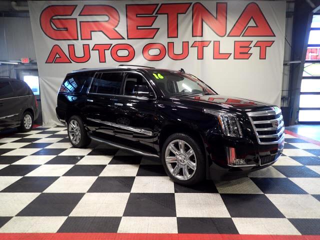 2016 Cadillac Escalade 1 OWNER ESV LUXURY 4WD EVERY OPTION AVAILABLE! 38K