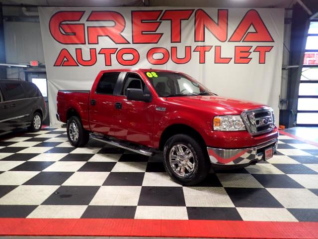 2008 Ford F-150 XLT SUPERCREW 4X4 5.4L TRITON V8 LOADED ONLY 104K!