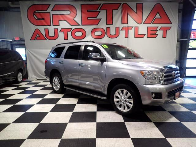 2013 Toyota Sequoia 1 OWNER PLATINUM 4X4 LOADED & WELL MAINTAINED!