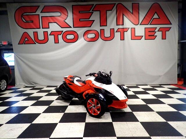 2015 Can-Am Spyder RSS SPECIAL SERIES ONLY 3,847 MILES! LIKE NEW!