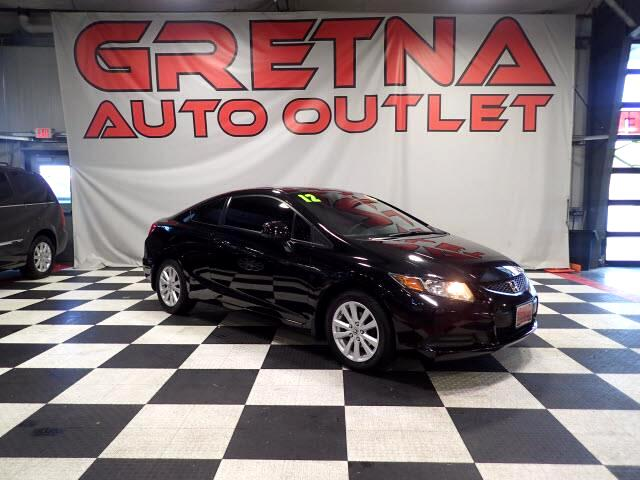2012 Honda Civic EX COUPE AUTO 2.3L ONLY 69K MILES! MOONROOF!