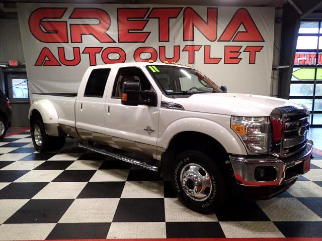 2011 Ford F-350 SD LARIAT CREW DUALLY POWER STROKE DIESEL 4X4 89K!