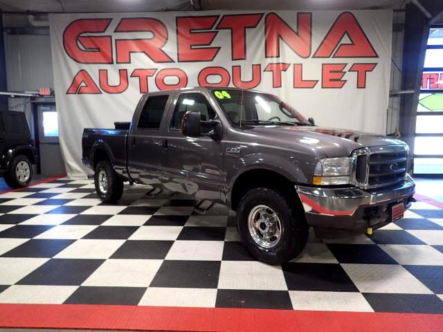 2004 Ford F-250 SD LARIAT CREW TURBO DIESEL 4X4 LEATHERED UP & LOADED