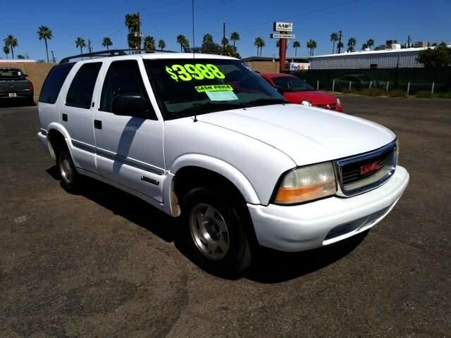2001 GMC Jimmy SLE 4-Door 2WD