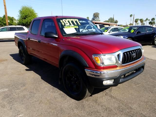 2002 Toyota Tacoma PreRunner Double Cab 2WD