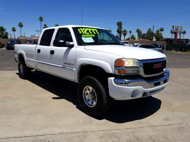2004 GMC Sierra 2500HD SLE2 Crew Cab Long Bed 4WD