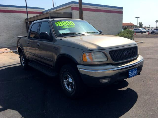 """2001 Ford F-150 4WD SuperCab 163"""" Lariat"""