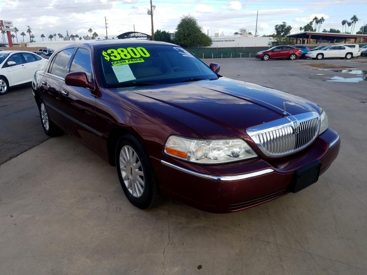 Used 2003 Lincoln Town Car For Sale In Glendale Az 85301 New Deal