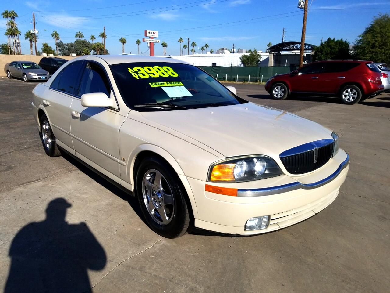 2002 Lincoln LS V8 Base