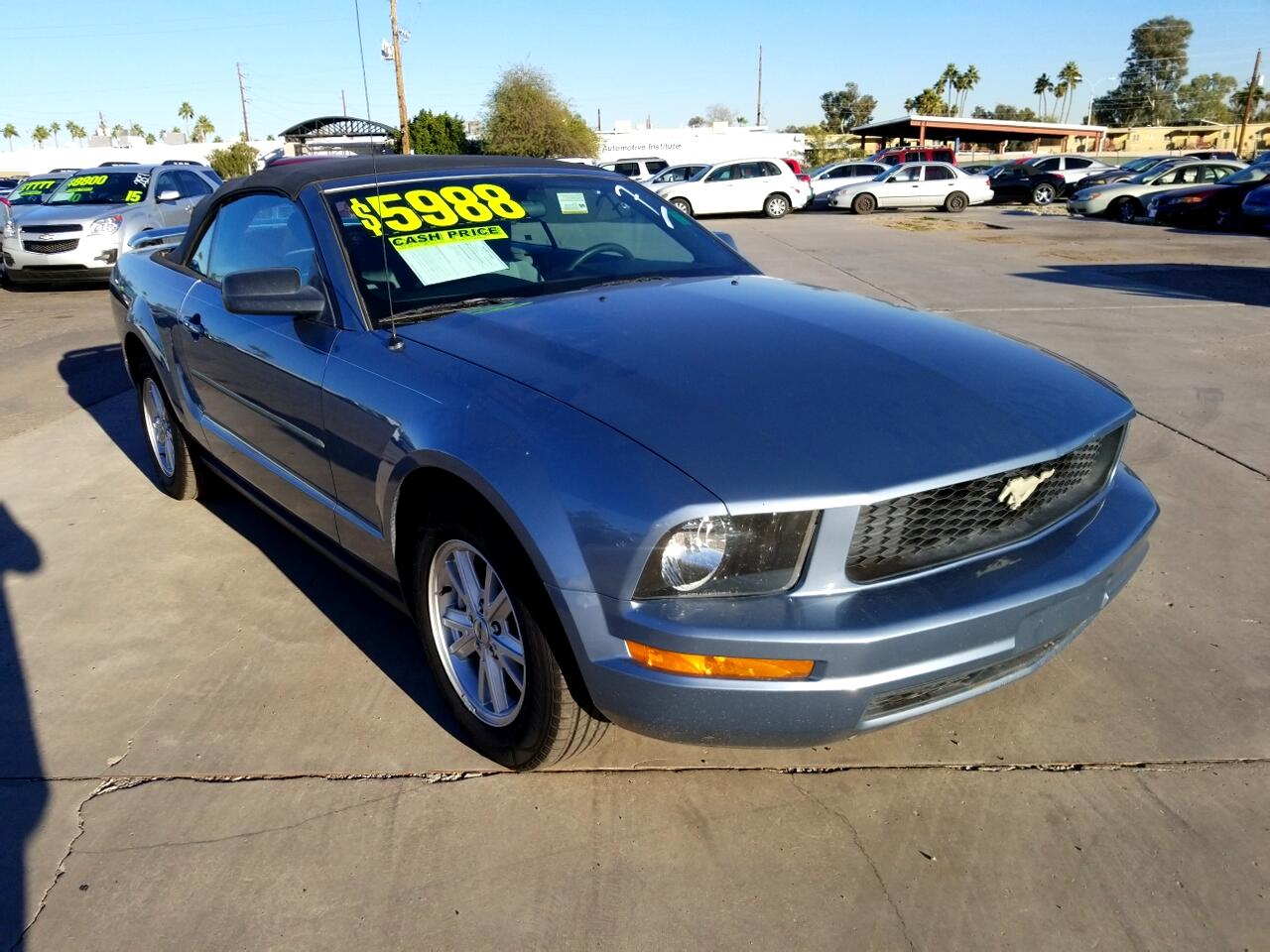 2007 Ford Mustang V6 Deluxe Convertible