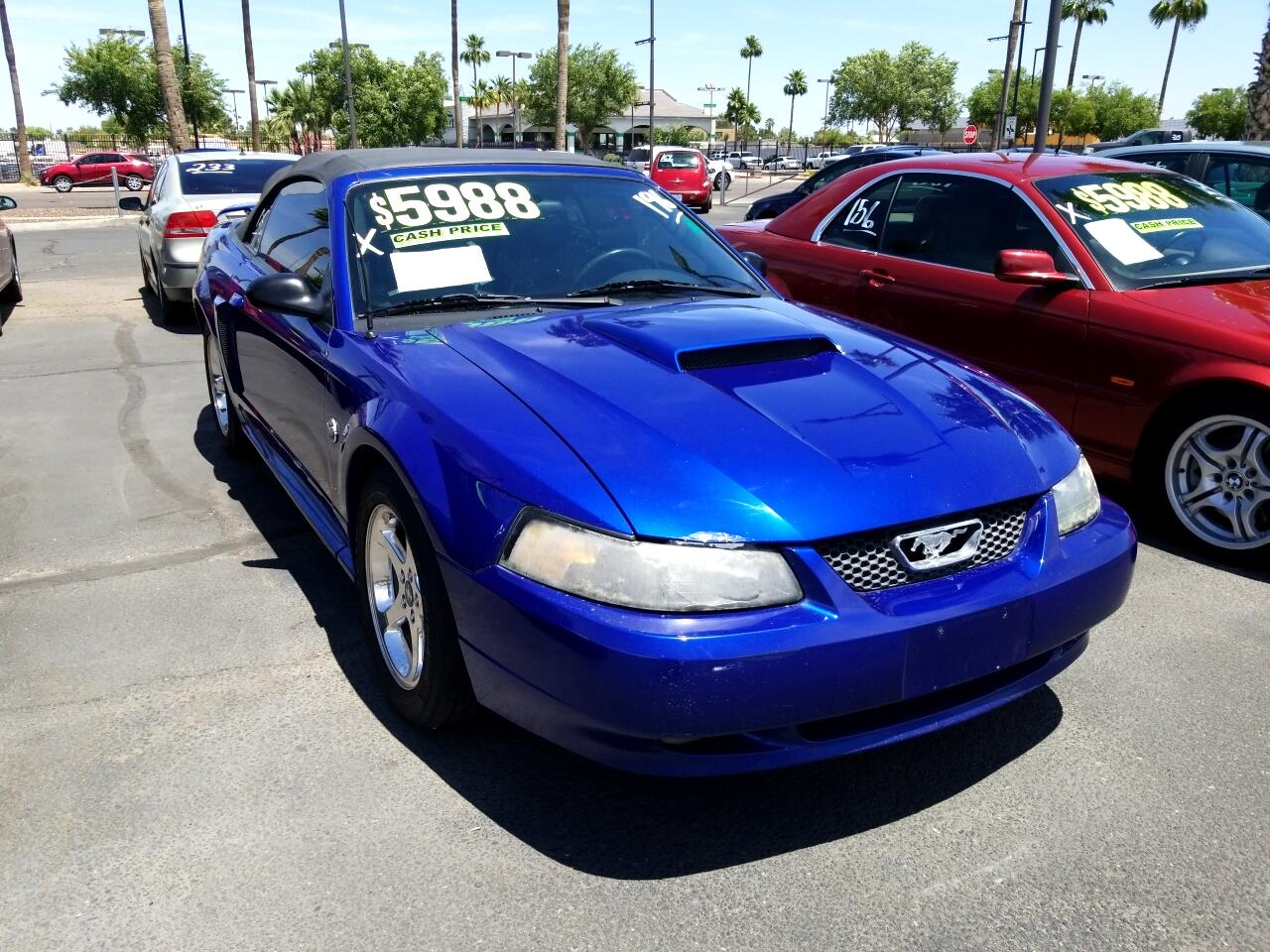 Used 2004 Ford Mustang Gt Deluxe Convertible For Sale In