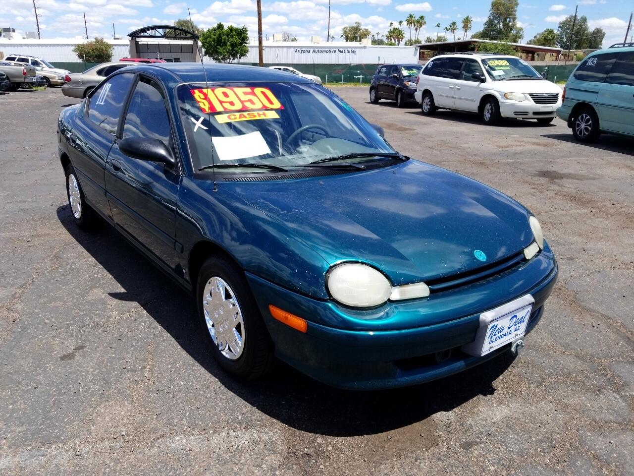 1995 Plymouth Neon Highline sedan