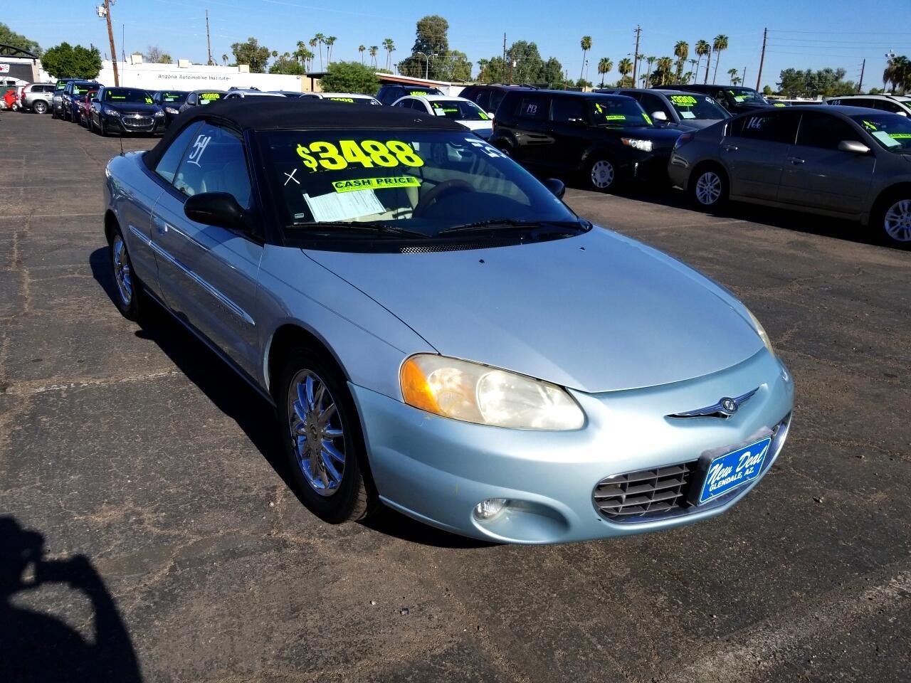 2001 Chrysler Sebring Limited Convertible
